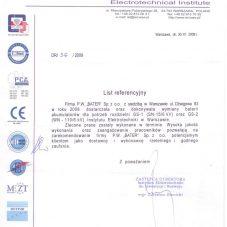 list-referencyjny-instytut-elektrotechniki-robota-z-2008r
